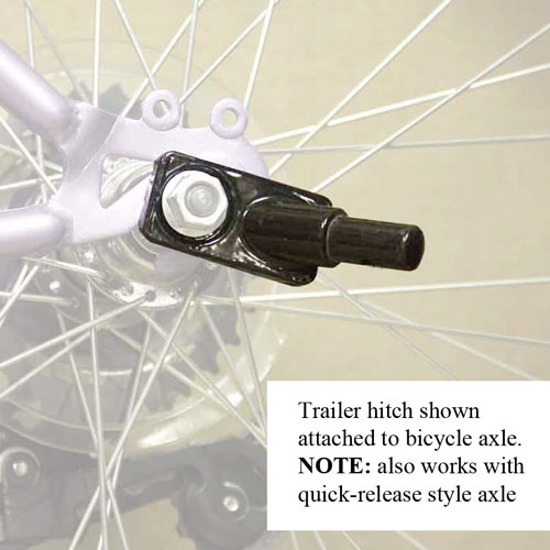Solvit Bicycle Hitch for Large or Medium Trailer