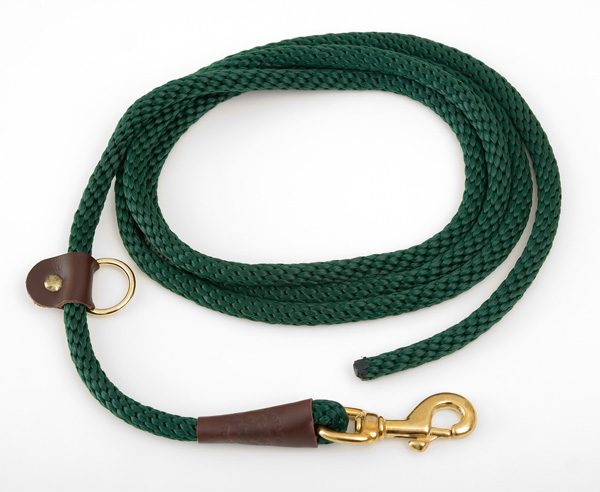 "Mendota Pet EZ Trainer/Leash: Green, 1/2"" x 8'"