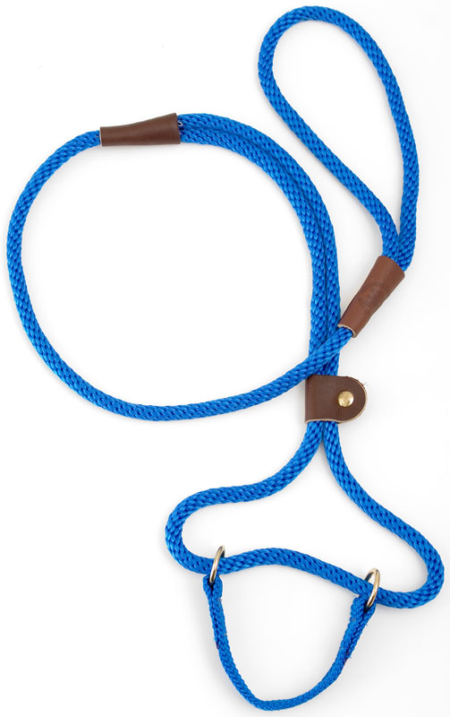 "Mendota Pet Dog Walker: Blue, 3/8"" x 4'"