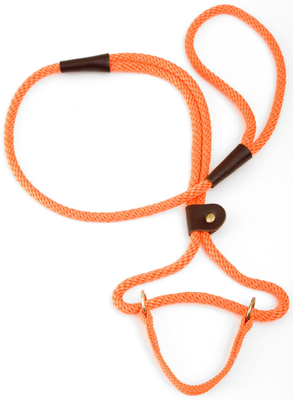 "Mendota Pet Dog Walker: Orange, 3/8"" x 4'"