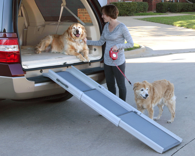Solvit Deluxe TriScope Adjustable Pet Ramp