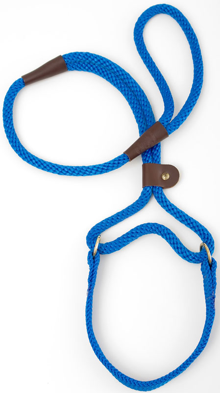 "Mendota Pet Big Dog Walker: Blue, 1/2"" x 4'"