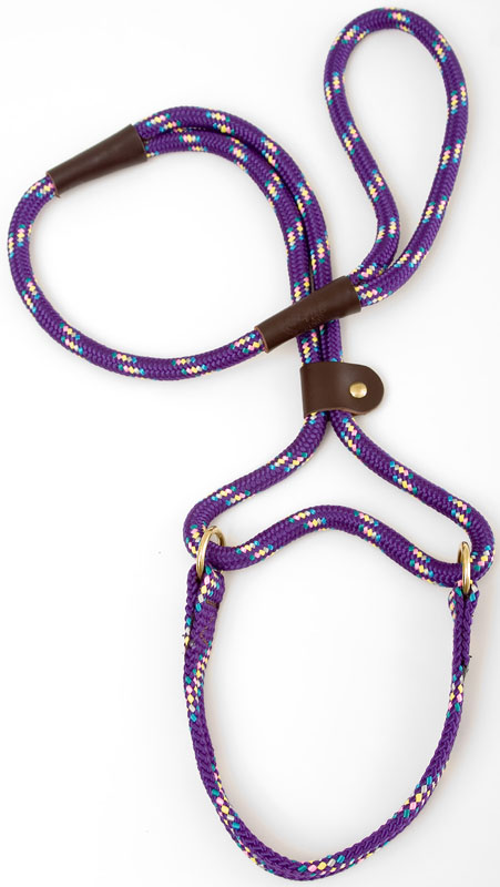 "Mendota Pet Big Dog Walker: Purple Conf, 1/2"" x 4'"