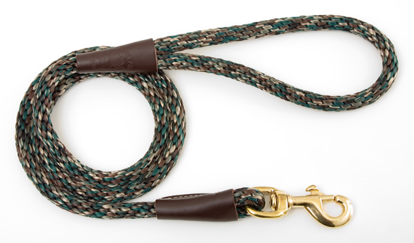 "Mendota Pet Snap Leash: Camo, 1/2"" x 4'"