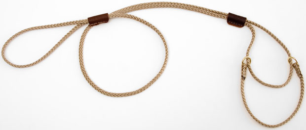"Mendota Pet Martingale Show Lead: Tan, Small 8"", 1/8"" x 40"""