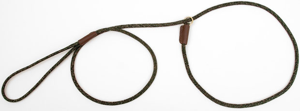 "Mendota Pet British Show Slip Lead: Camo, 1/8"" X 54"""