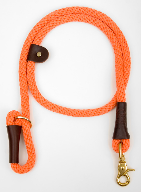 "Mendota Pet Quick Lead: Orange, 1/2"" x 4'"