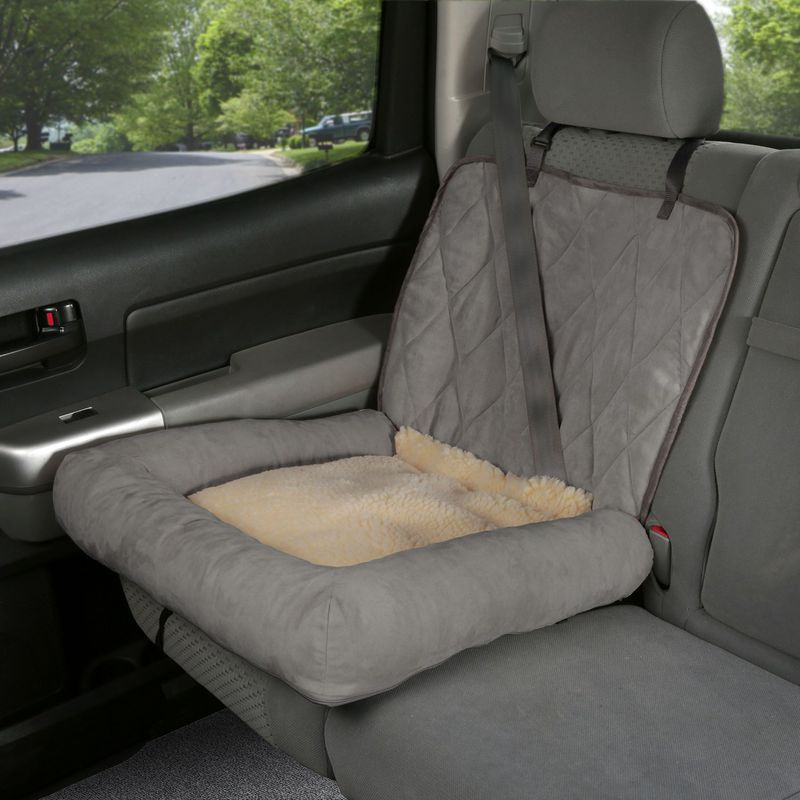 Solvit Car Cuddler: Small, Grey