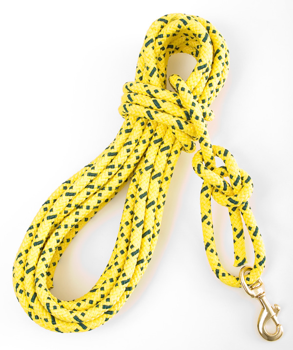 "Mendota Super Cord/Check Cord: Hi-Viz Yellow, 7/16"" x 30'"