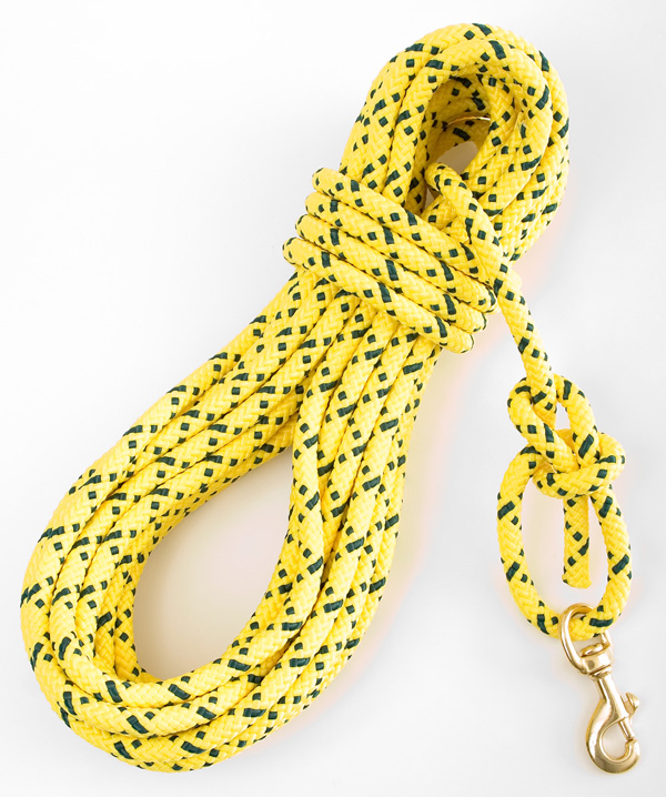 "Mendota Pet Super Cord/Check Cord: Hi-Viz Yellow, 7/16"" x 50'"