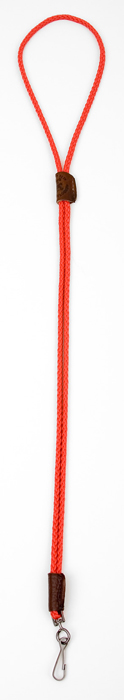 Mendota Pet Whistle Lanyard: Single, Red