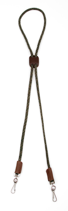 Mendota Pet Whistle Lanyard: Double, Camo