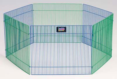 "Midwest Small Pet Playpen 6 Panels: 15"" x 19"""