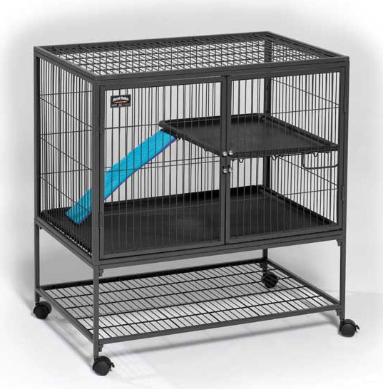 "Midwest Ferret Nation Single Unit Cage Gray 36"" x 25"" x 38.5"""