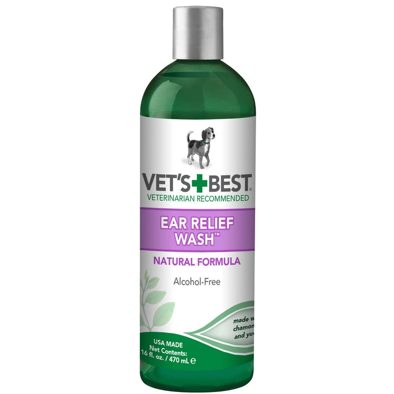 Vet's Best Dog Ear Relief Wash 16oz