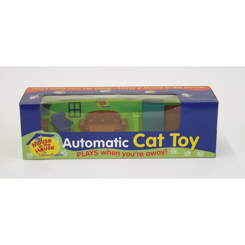 CatDancer Mouse In The House Cat Toy