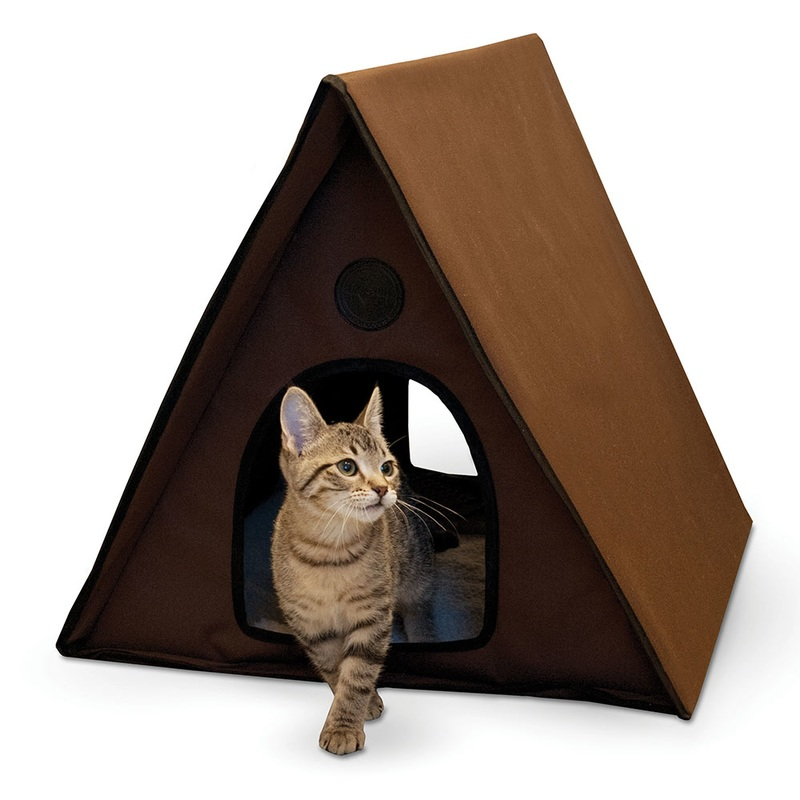 K&H Pet Products, LLC Outdoor Multiple Kitty A-frame Unheated