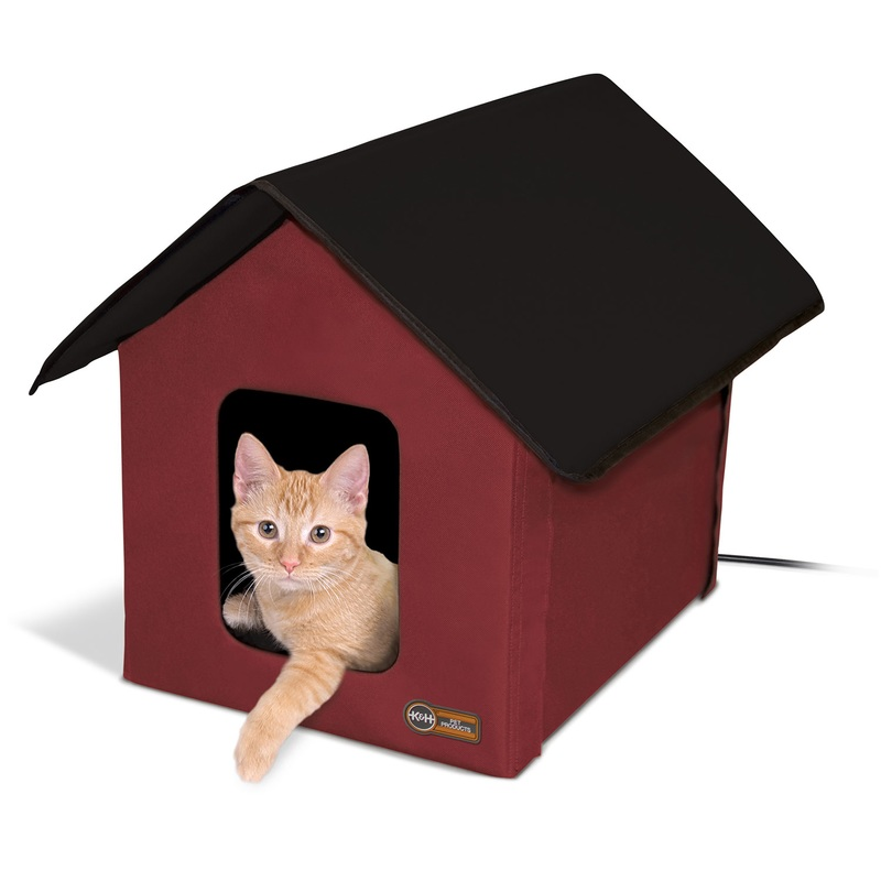 K&H Pet Products, LLC Outdoor Heated Kitty House Barn