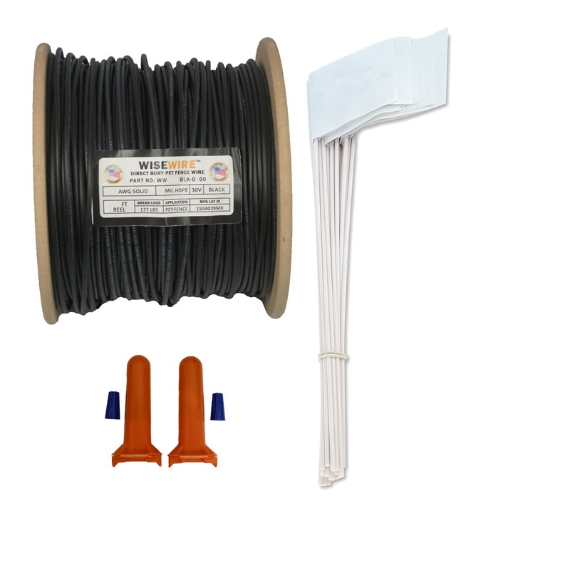 WiseWire 18 Gauge Boundary Wire Kit 500ft