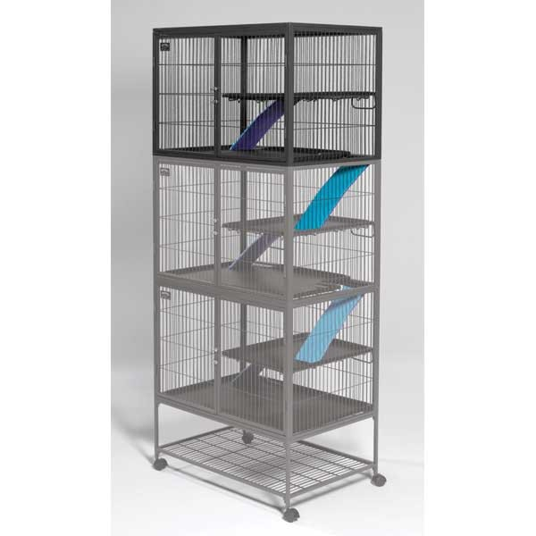 "Midwest Ferret Nation Add-On Single Unit Gray 36"" x 25"" x 24"""