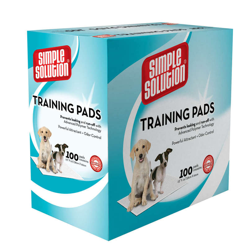 Simple Solution Training Pads 100 Count