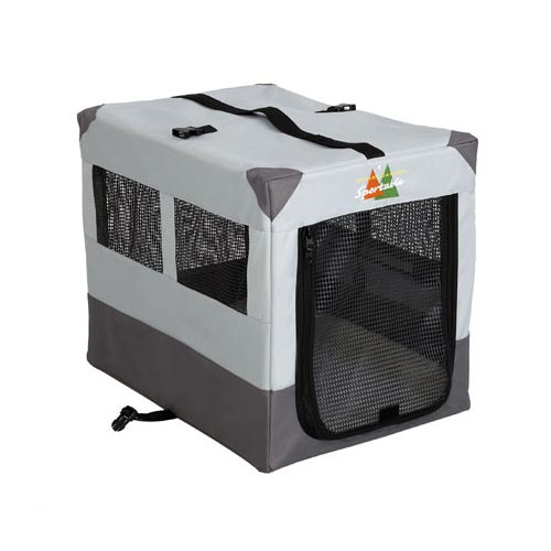 "Midwest Canine Camper Sportable Crate Gray 24"" x 17.5"" x 20.25"""