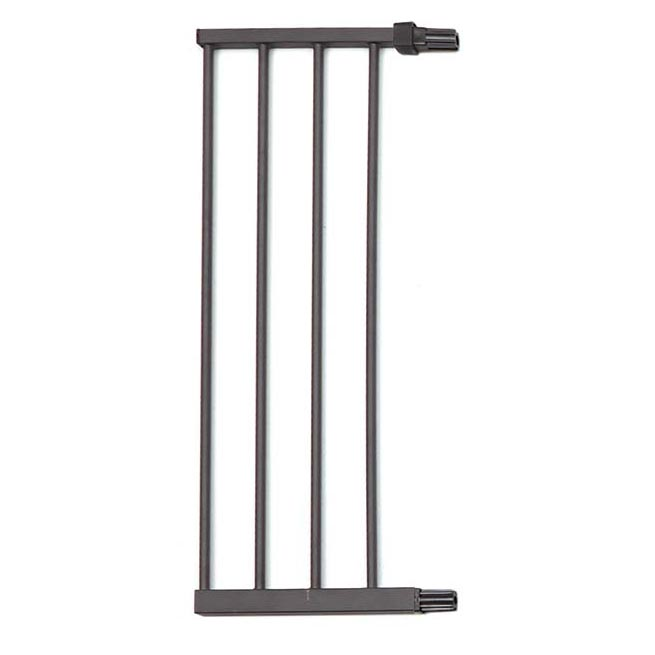 "Midwest Steel Pressure Mount Pet Gate Extension 11"" Graphite 11.375"" x 1"" x 29.875"""