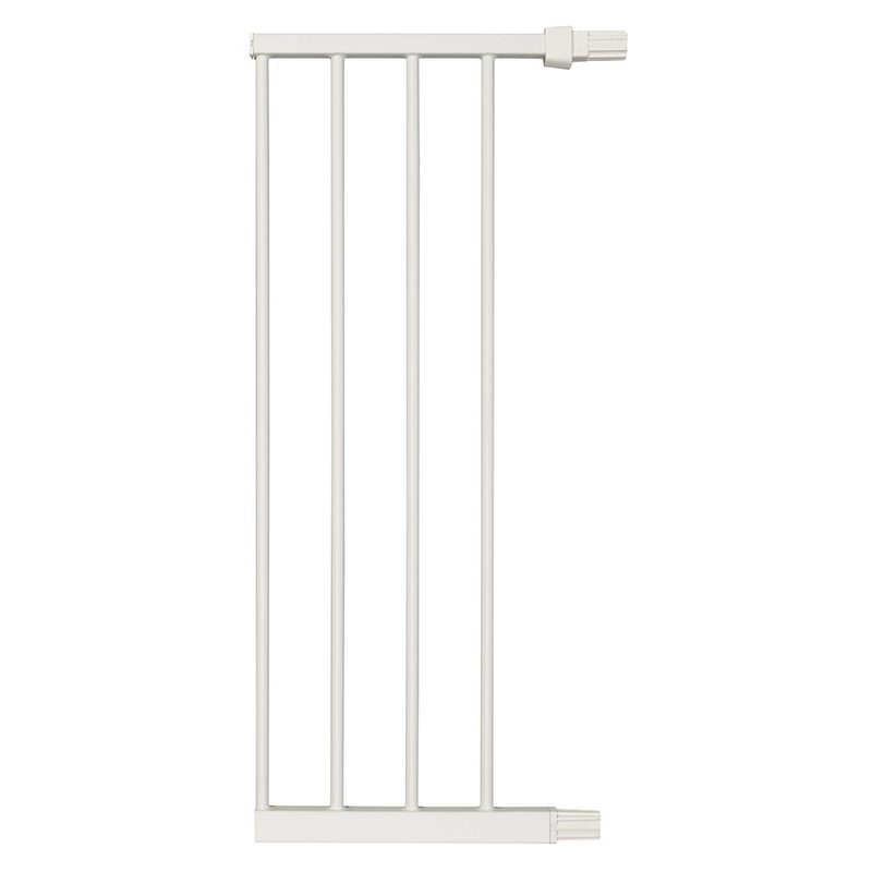 "Midwest Steel Pressure Mount Pet Gate Extension 11"" White 11.375"" x 1"" x 29.875"""