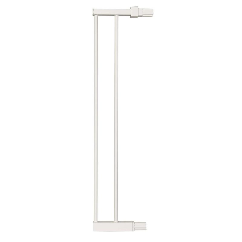 "Midwest Steel Pressure Mount Pet Gate Extension 6"" White 5.5"" x 1"" x 29.875"""