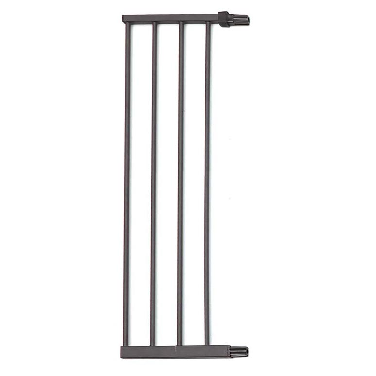 "Midwest Steel Pressure Mount Pet Gate Extension 11"" Graphite 11.375"" x 1"" x 39.125"""