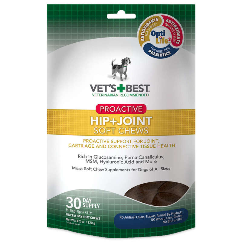 Vet's Best Proactive Hip and Joint Dog Soft Chews 30 count