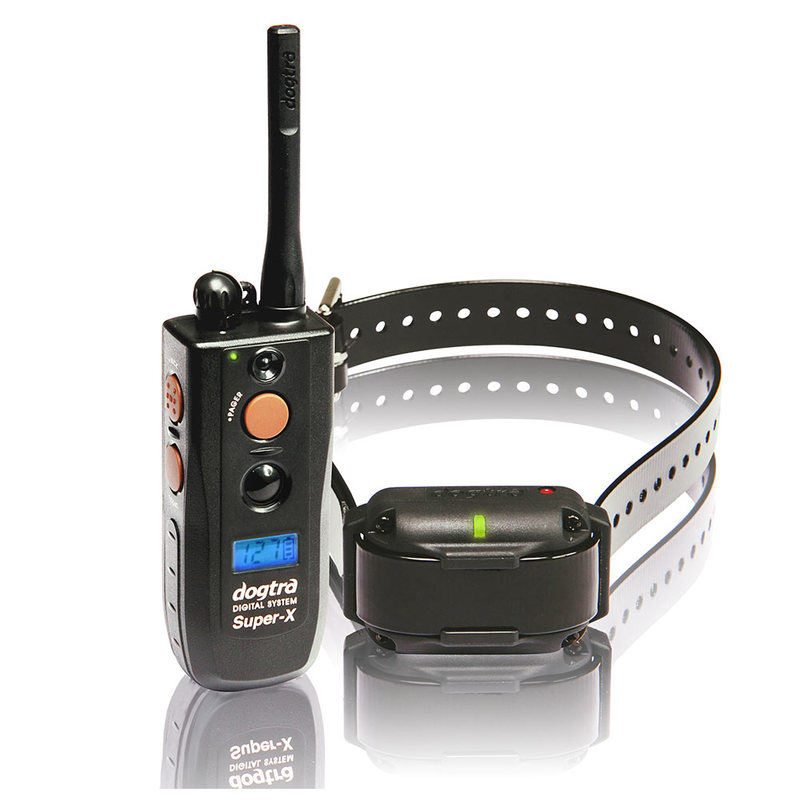 Dogtra Super-X 1 Mile Dog Remote Trainer Black