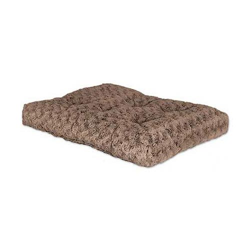 "Midwest Quiet Time Deluxe Ombre' Dog Bed Mocha 21"" x 12"""