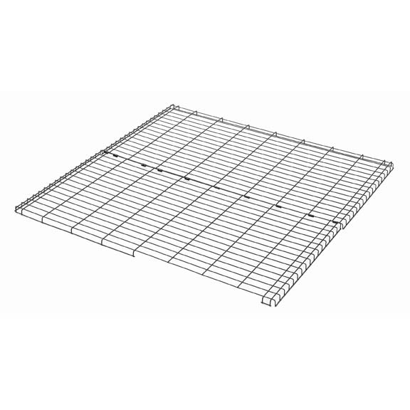 "Midwest Wire Mesh Top for Midwest Pens Black 48"" x 48"""