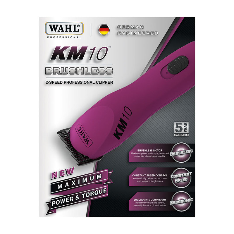 Wahl Km10 Brushless Motor 2 Speed Clipper