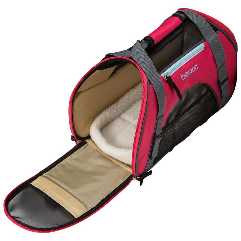 "Bergan Pet Comfort Carrier Small Berry 16"" x 8"" x 11"""