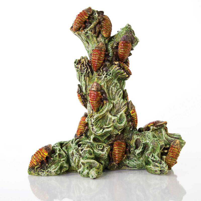 "BioBubble Decorative Madagascar Roach Tower 6.5"" x 5.25"" x 7.5"""