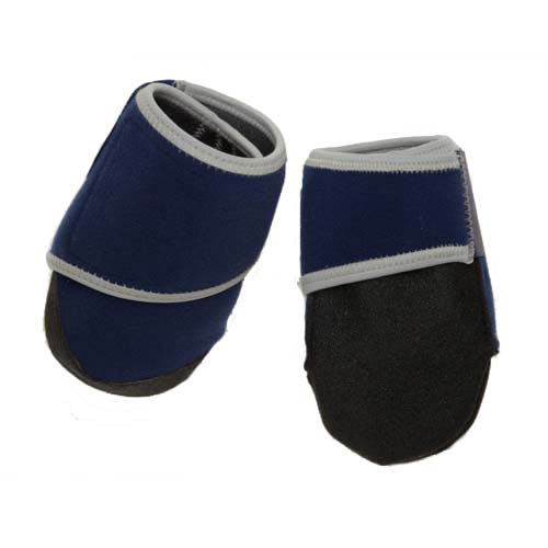 Bowserwear Healers Booties For Dogs Box Set Small Blue