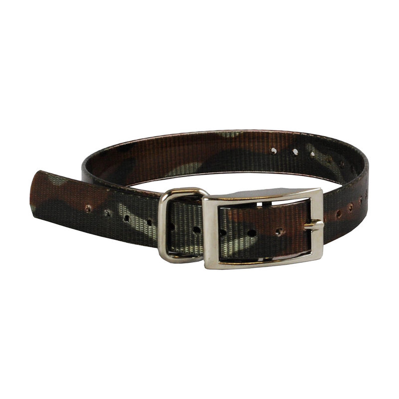 "The Buzzard's Roost Collar Strap 1"" Camo 1"" x 24"""