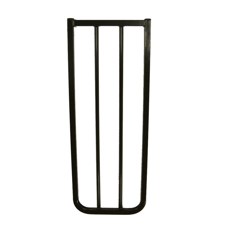 "Cardinal Gates Extension For AutoLock Gate And Stairway Special Black 10.5"" x 1.5"" x 29.5"""