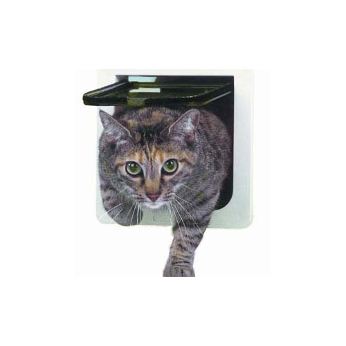 Ideal Pet Products Lockable Cat Flap Door