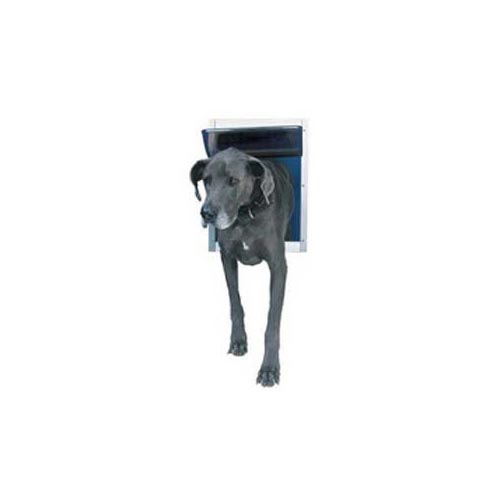 Ideal Pet Product Deluxe Dog Door: White, Extra Extra Large