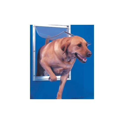 Ideal Pet Product Deluxe Dog Door: White, Extra Large