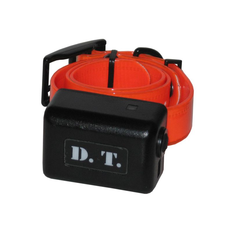 D.T. Systems H2O 1 Mile Dog Remote Trainer Add-On Collar Orange