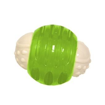 "Hyper Pet Hyper Squawker Ball Dog Toy Green 3.24"" x 2.52"" x 2.52"""