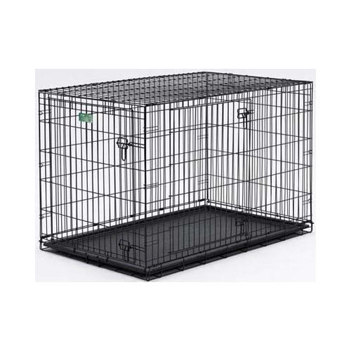 "Midwest Dog Double Door i-Crate Black 42"" x 28"" x 30"""