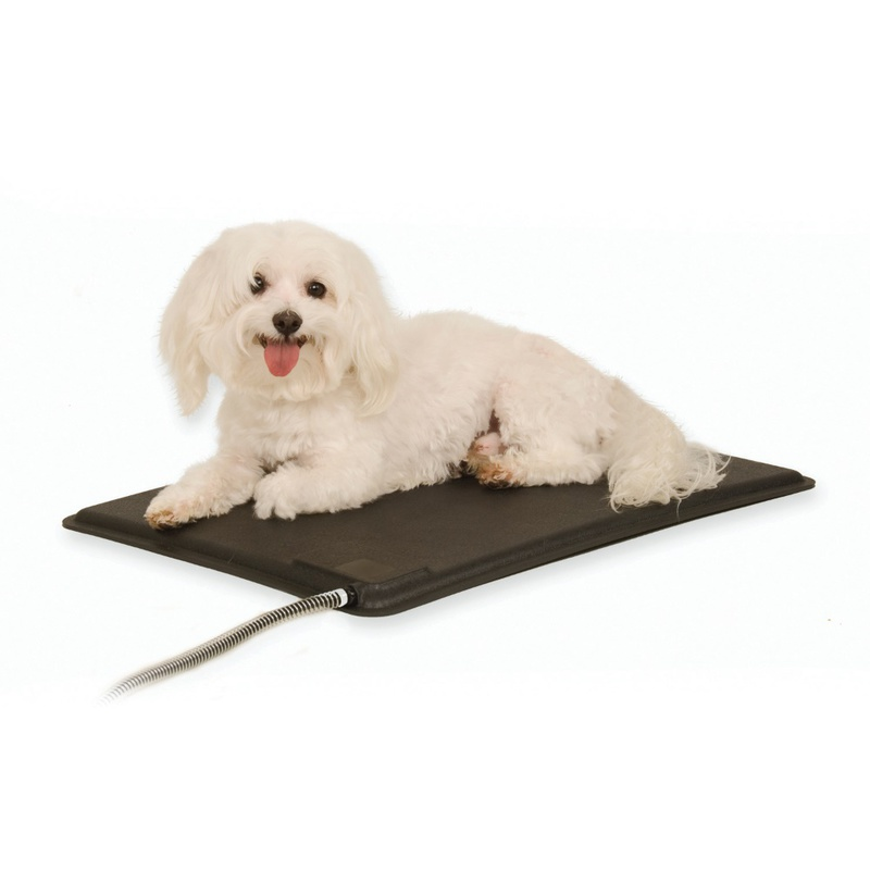 "K&H Pet Products Lectro-Kennel Heated Pad Small Black 12.5"" x 18.5"" x 0.5"""