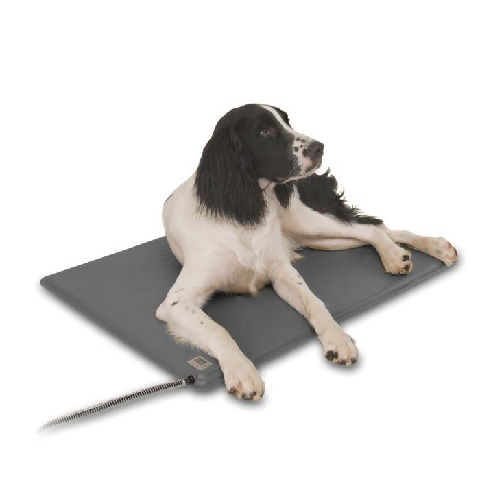"K&H Pet Products Deluxe Lectro-Kennel Small Gray 12.5"" x 18.5"" x 0.5"""