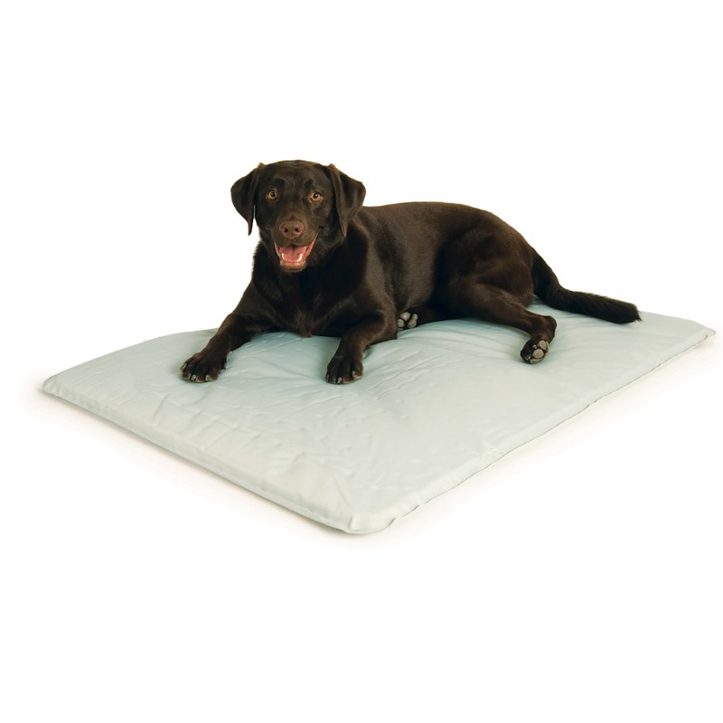 "K&H Pet Products Cool Bed III Thermoregulating Pet Bed Large Gray 32"" x 44"" x 0.5"""
