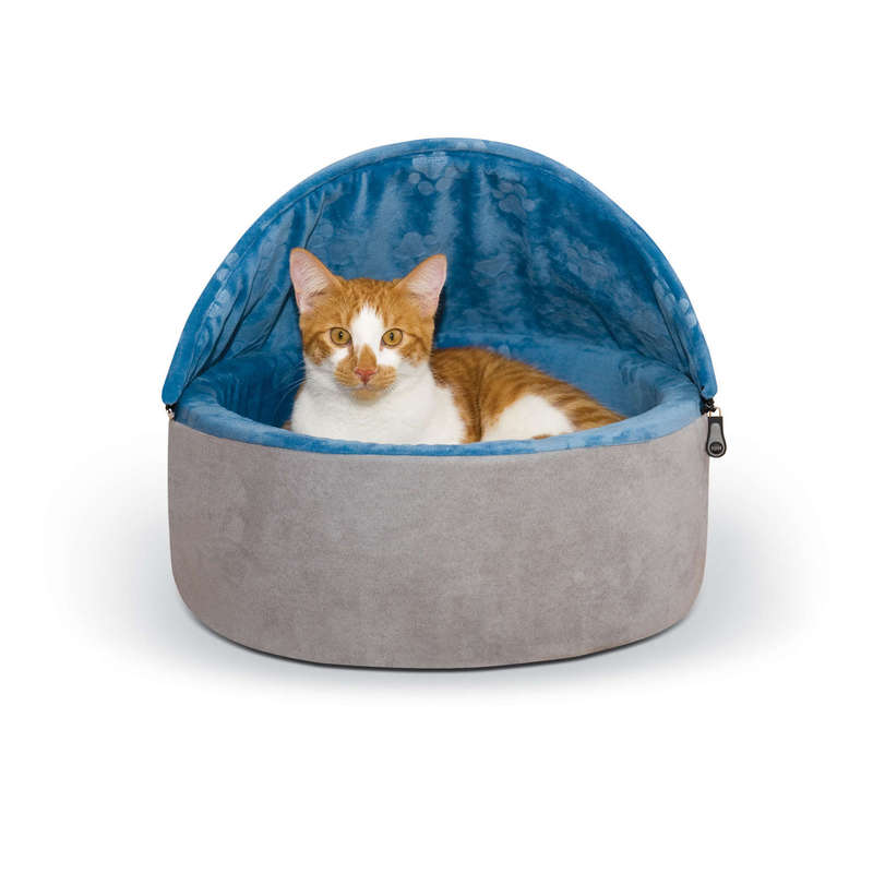 K&H Pet Products, LLC Self-warming Kitty Bed Hooded